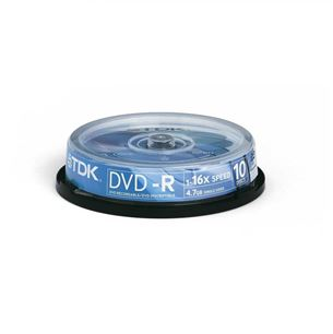Diski DVD-R, TDK / 4,7GB