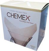 Сложенные кофейные фильтры, Chemex