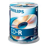 CD-R 700MB, Philips / 100 gab