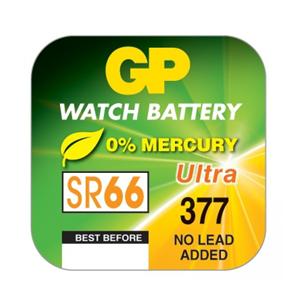 Pulksteņu baterija SR66, GP GP377F