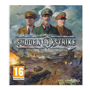 Spēle priekš PC, Sudden Strike 4
