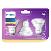 LED light bulb Philips / GU10, 345 lm / 3 psc.