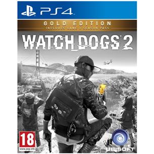 Spēle priekš PlayStation 4, Watch Dogs 2 Gold Edition