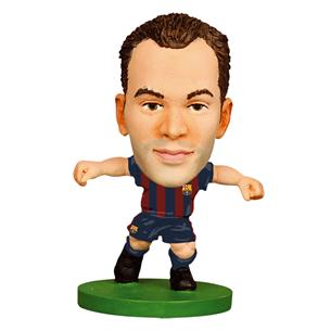 Statuete Andres Iniesta FC Barcelona, SoccerStarz