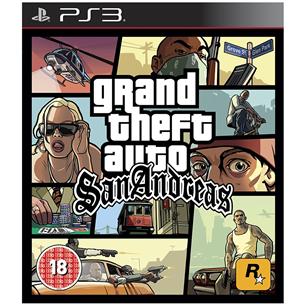 Spēle priekš PlayStation 3, Grand Theft Auto San Andreas