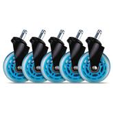 Резиновые колёсики для игрового стула EL33T