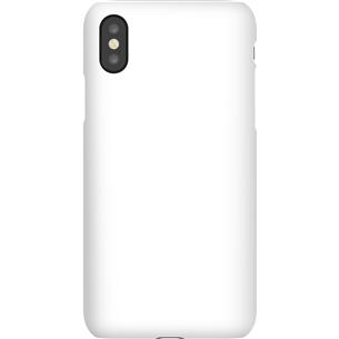 Vāciņš ar personalizētu dizainu priekš iPhone X matēts / Snap