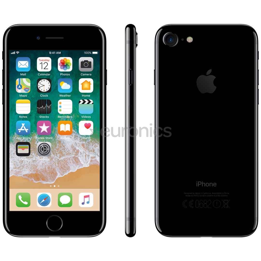 smartphone apple iphone 7 32gb mqtx2et a. Black Bedroom Furniture Sets. Home Design Ideas