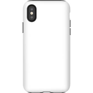 Vāciņš ar personalizētu dizainu priekš iPhone X matēts / Tough