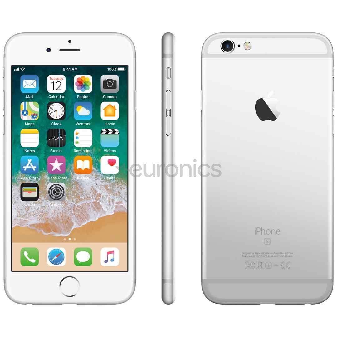 iphone 6s apple 128 gb mkqu2et a. Black Bedroom Furniture Sets. Home Design Ideas