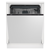 Built-in dishwasher, Beko / 14 place settings