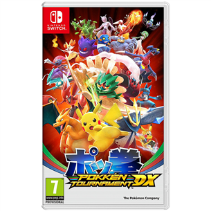 Spēle priekš Nintendo Switch, Pokken Tournament DX
