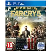 Spēle priekš PlayStation 4, Far Cry 5 Gold Edition