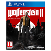 Spēle priekš PlayStation 4, Wolfenstein II: The New Colossus