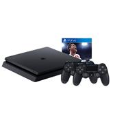 Spēļu konsole Sony PlayStation 4 Slim (1 TB) + DualShock 4 + FIFA 18