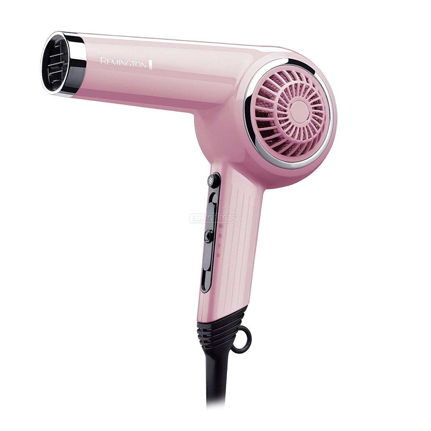 Pink Hair Dryer ~ Hair dryer pink lady retro remington d op