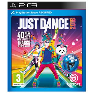 Spēle priekš PlayStation 3, Just Dance 2018