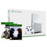 Spēļu konsole Microsoft Xbox One S (500 GB) + 3 spēles