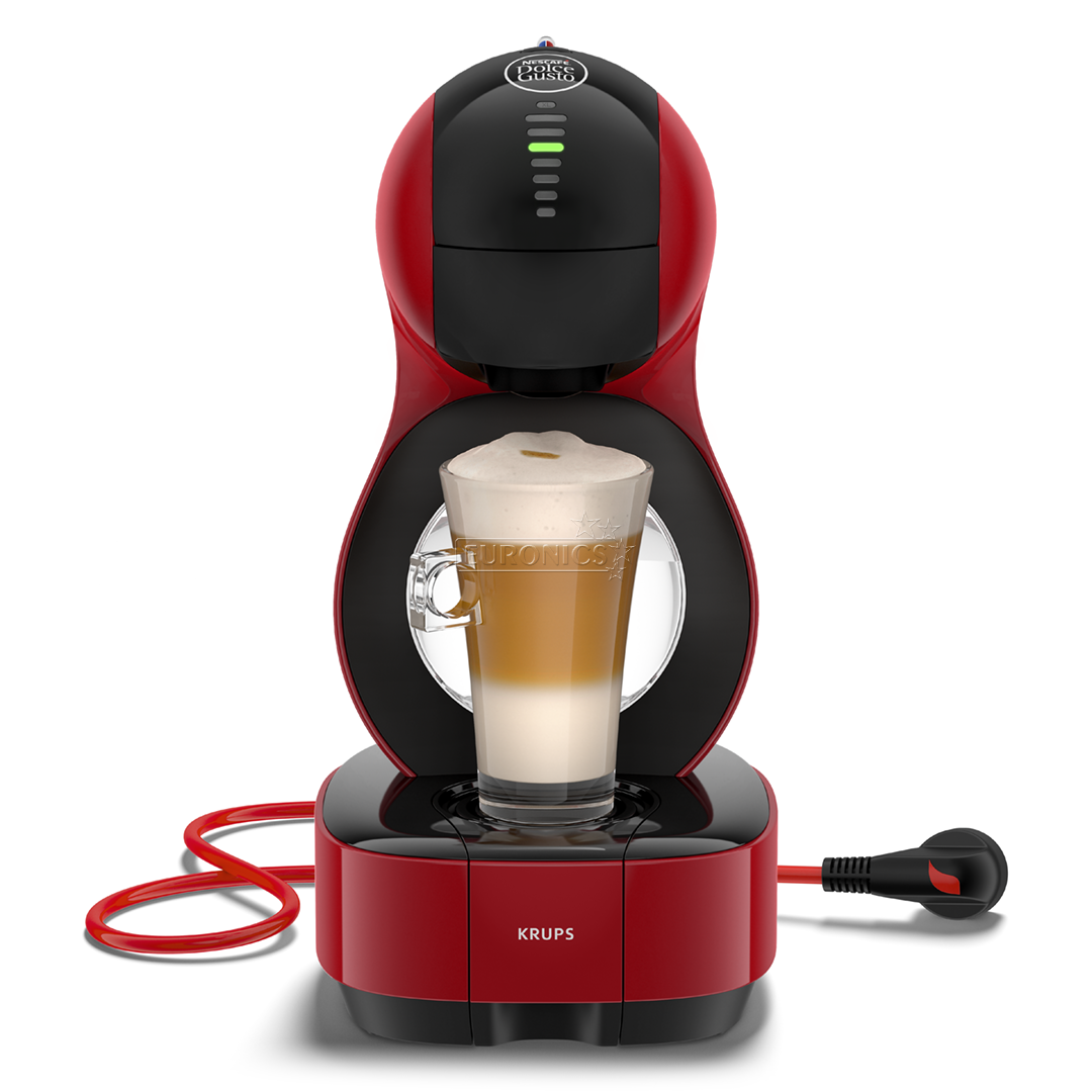 capsule coffee machine nescafe dolce gusto lumio krups kp1305. Black Bedroom Furniture Sets. Home Design Ideas