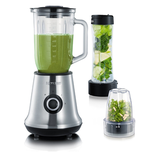 Blenderis Multimixer + smoothie mix & go, Severin
