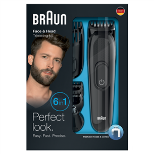 Bārdas trimmeris 6-in-1, Braun