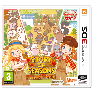 Spēle priekš 3DS, Story of Seasons: Trio of Towns