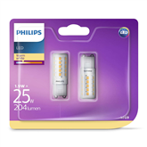 2 x LED lamp Philips G9