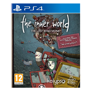 Spēle priekš PlayStation 4, The Inner World - The Last Wind Monk