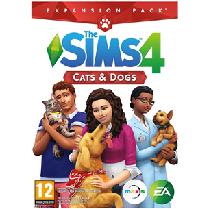 Spēle priekš PC, The Sims 4: Cats and Dogs