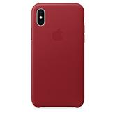 iPhone X leather case Apple