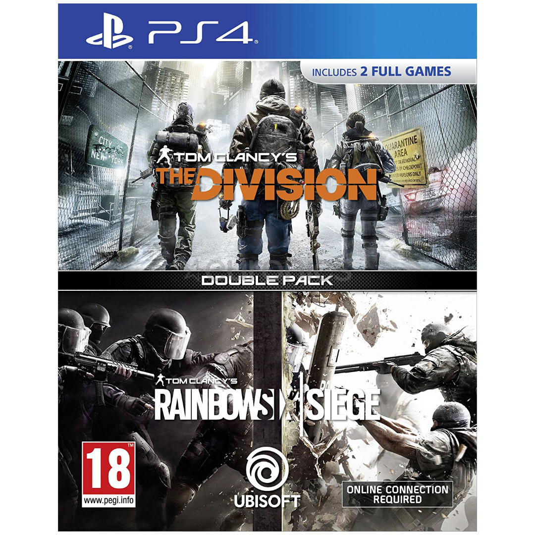 Tom Clancy Games For Ps4 : Ps game tom clancy s the division rainbow six siege