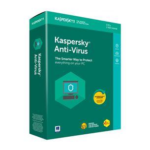 Kaspersky Antivirus 2018 1PC / 1gads