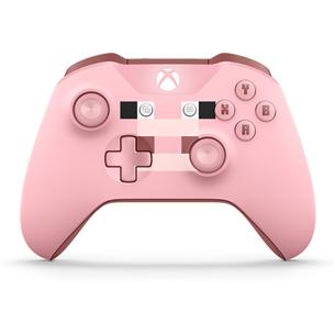 Bezvadu kontrolieris Xbox One Minecraft Pig, Microsoft