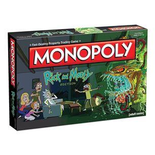 Galda spēle Monopoly - Rick and Morty