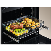 Gas cooker with electric oven, Electrolux / 50 cm