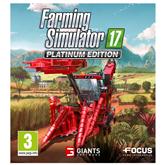 Spēle priekš PC, Farming Simulator 17 Platinum Edition