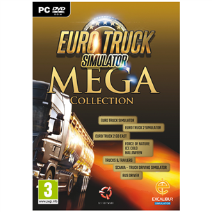 Spēle priekš PC, Euro Truck Simulator 2 Mega Collection