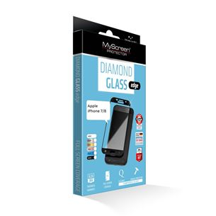Screen protector Diamond glass edge for iPhone 7/8, MSC