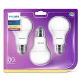 LED lamp Philips E27 (3 pcs)