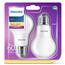 LED spuldze E27 , Philips / 2 gab.