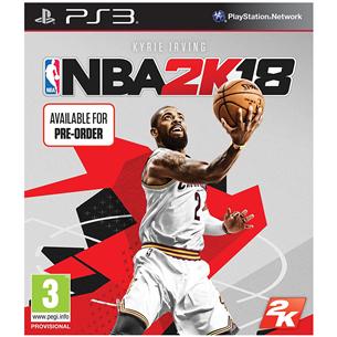 Spēle priekš PlayStation 3, NBA 2K18