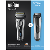 Shaver Series 9 + beard trimmer BT5090, Braun
