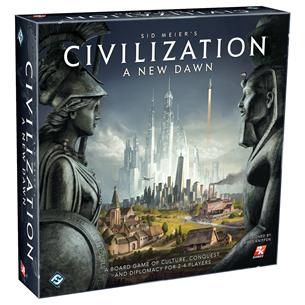 Galda spēle Civilization: A New Dawn