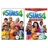 Spēle priekš PC, The Sims 4 + Cats and Dogs Bundle