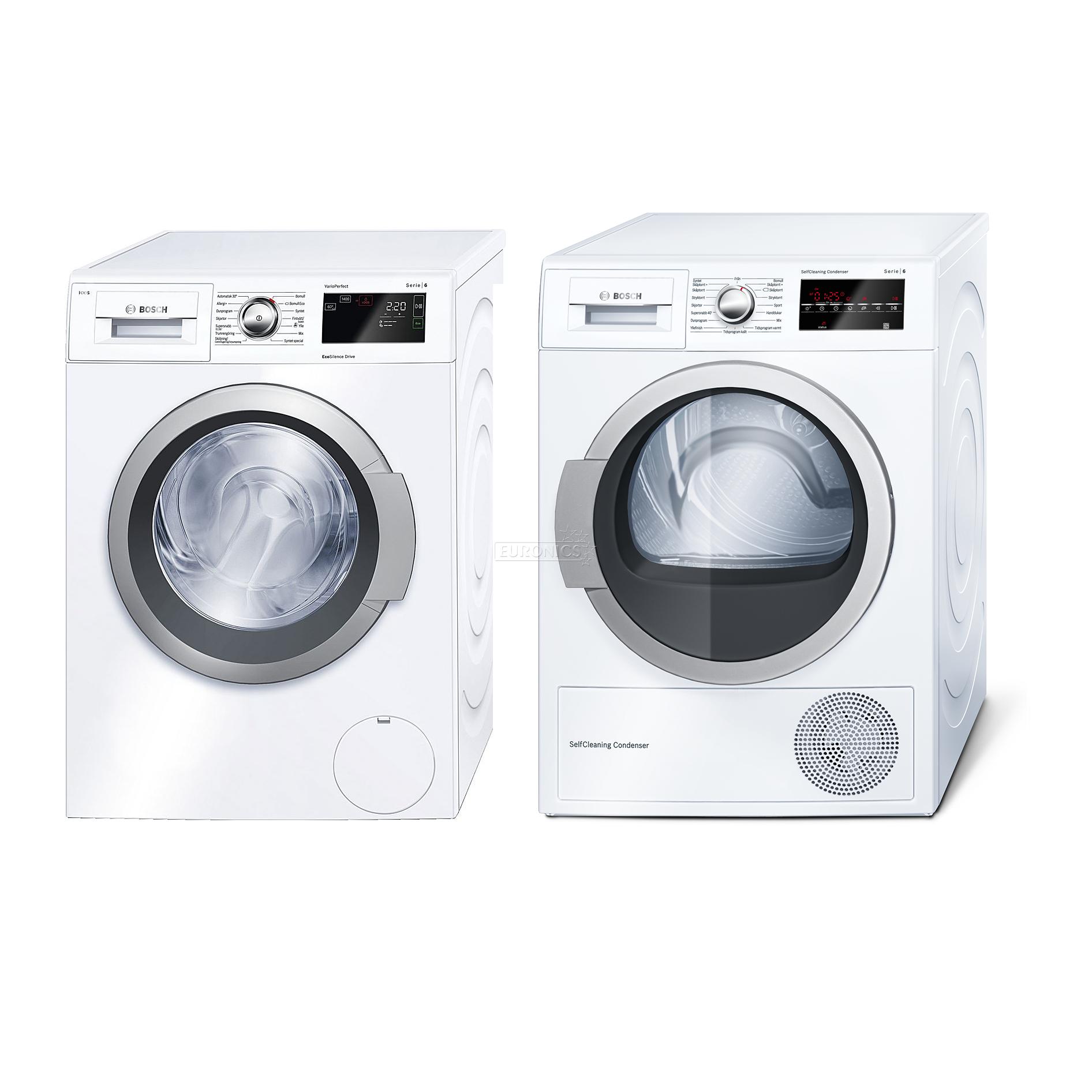 Washing machine dryer Bosch 1400 rpm WAT286B8SN