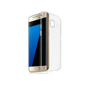 Silikona apvalks priekš Galaxy S7 Edge, JustMust / caurspīdīgs