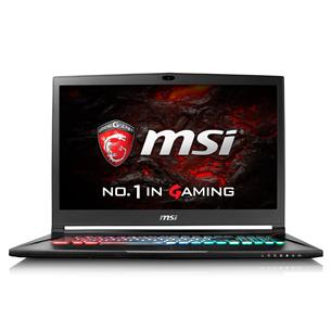 Portatīvais dators GS73VR 7RF Stealth Pro, MSI