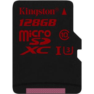 Atmiņas karte Micro SDXC, Kingston / 128GB