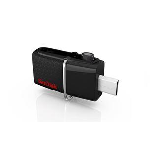 USB zibatmiņa Ultra Android Dual USB 3.0, SanDisk / 32GB