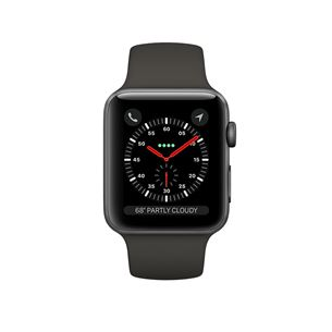 Viedtpulkstenis Watch 3, Apple / GPS